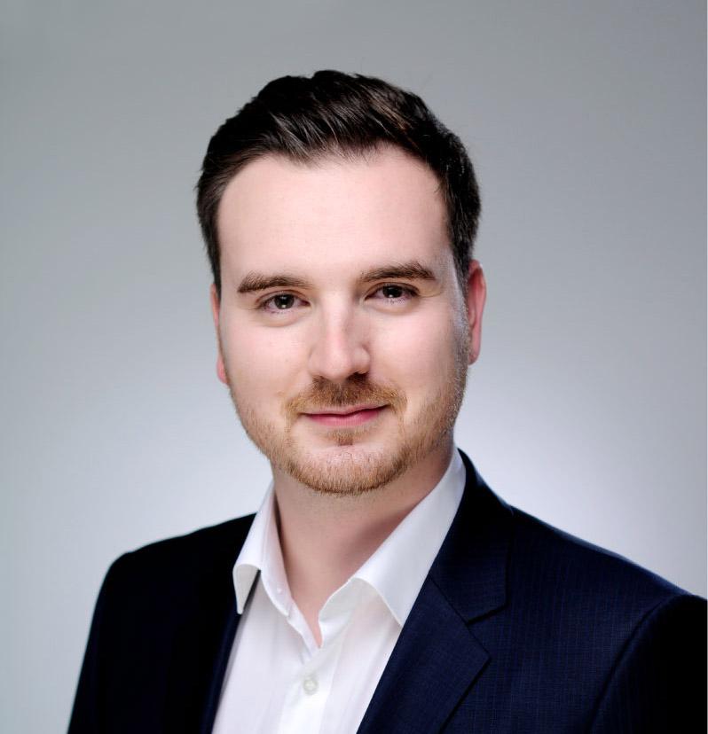 Porträt von Tim Arlt, Vorstandsmitglied des Händlerbundes