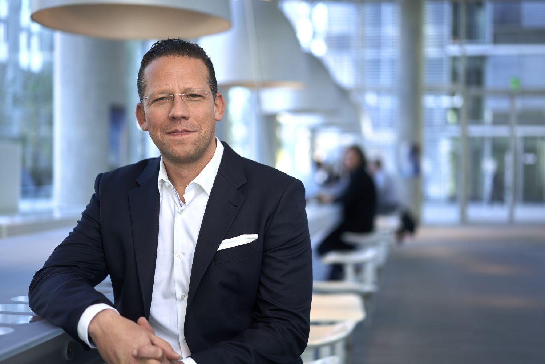 Porträt: Dr. Kai-Uwe Laag, CEO Telefónica Germany Retail GmbH